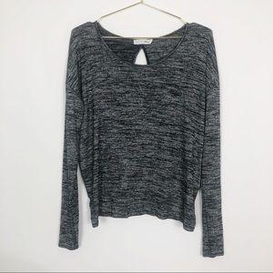 Rag & Bone | Mia Open-Back Marled Sweater